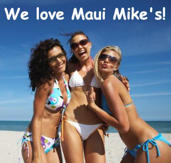 Maui Mike's Bálsamo labial SPF-15, Piña colada, Paquete de 4