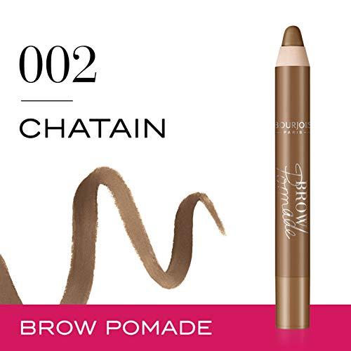 Bourjois Brow Pomade Lápiz de ojos Tono 2 Chatain - 11 gr.