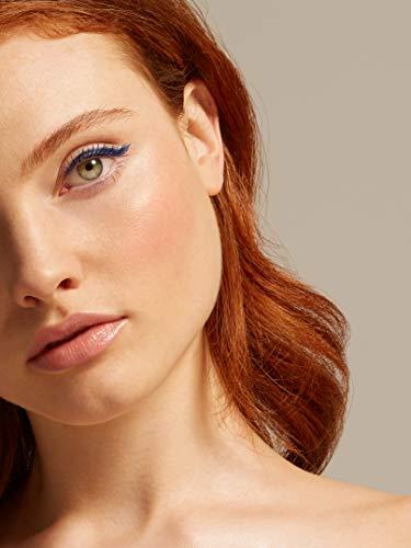Marca Amazon - find. Mood Blue (Máscara de volumen azul + Delineador de ojos en rotulador azul)