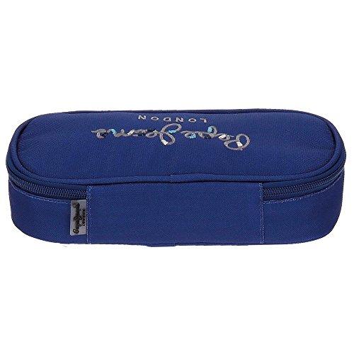 Estuche Pepe Jeans Harlow Azul Marino con organizador interior