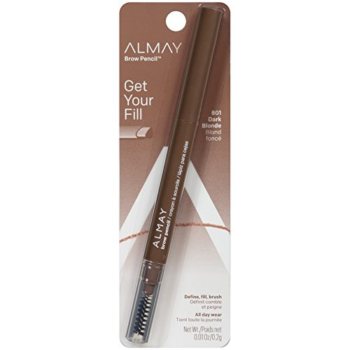 Almay Brow Defining Pencil, Dark Blonde 801, 0.0028-Ounce Packages (Pack of 2) by Almay
