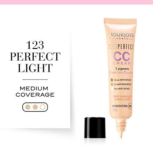 Bourjois 123 Perfect CC Cream Base de maquillaje, Tono 33 Rose Beige - 43 gr