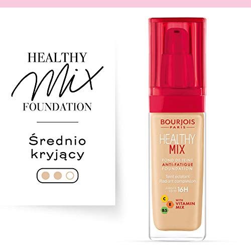 Bourjois Healthy Mix Base de Maquillaje Tono 52 Vanilla, 30 ml