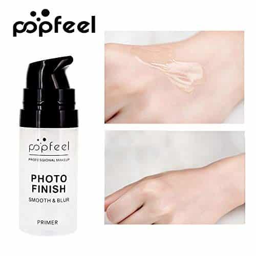 Anself 15ml Prebase Maquillaje Base Facial Crema Control de Aceite Maquillaje Anti Líneas Finas Aclarar Desnuda Fundación Cosmética