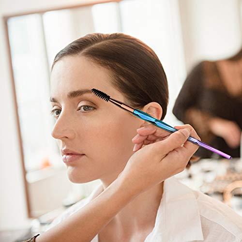 SANTOO 20 Piezas Pinceles Maquillaje, Set de Brochas de Maquillaje Profesional Para Maquillaje Facial Ojos Labios