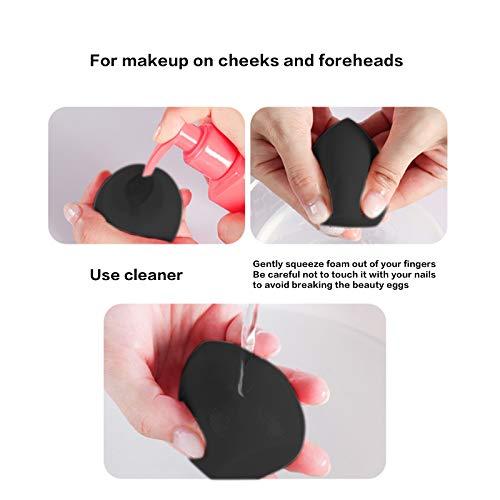 Set de 3 esponjas para aplicar maquillaje, de Subsky sin látex, hipoalergénicas e inodoras