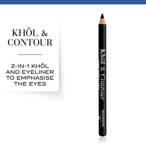 Bourjois Khol & Contour Lápiz de ojos Tono 1 Noir-issime - 4 gr.