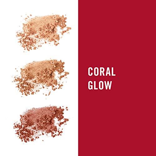 Rimmel London Sculpting Palette, Polvos de maquillaje - Tono Coral Glow, 18.5 g