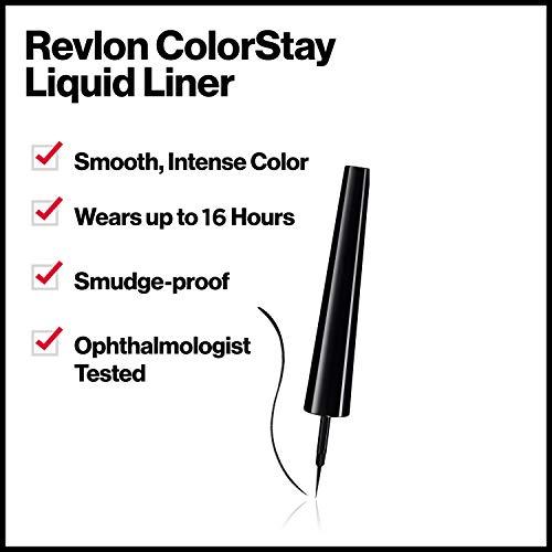 Revlon Colorstay Delineador de Ojos Líquido (#251 Blackest Black) 2,5ml