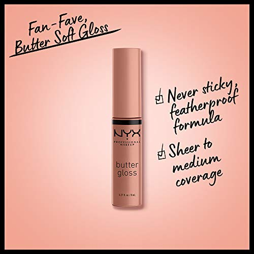 Nyx - Brillo de labios butter gloss professional makeup