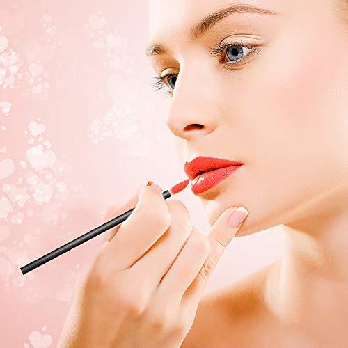 """SourceTon Paleta cosmética de 3 pocillos (5.9""""x 3.9"""") y aplicadores de maquillaje Paleta de maquillaje profesional con espátula y kit de brochas de maquillaje de 150 piezas"""