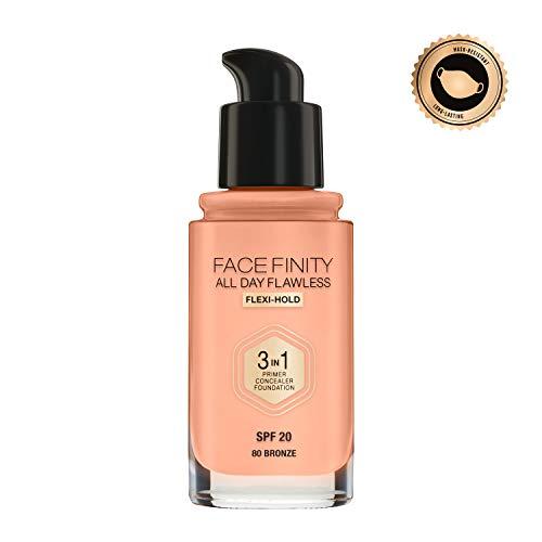 Max Factor 56124 Face Finity 3 in 1 Base de Maquillaje, SPF20 - 30 ml