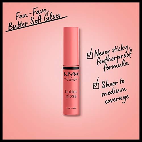 Nyx - Brillo de labios butter gloss professional makeup