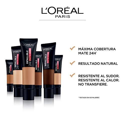 Infalible 24h Matte Cover base de maquillaje