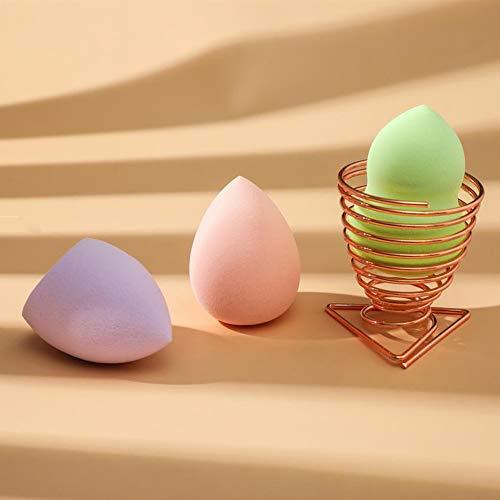 Esponja Maquillaje, Set de Makeup Blender Beauty para Base de Maquillaje, Ideal para Líquidos, Cremas y Polvos, sin Látex, Uso Húmedo y Seco