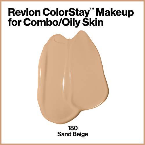 Revlon ColorStay Base de Maquillaje piel mixto/graso FPS15 (#180 Sand Beige) 30ml