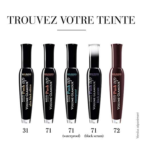Bourjois Push Up Máscara de pestañas Tono 71 Waterproof black, 7 ml