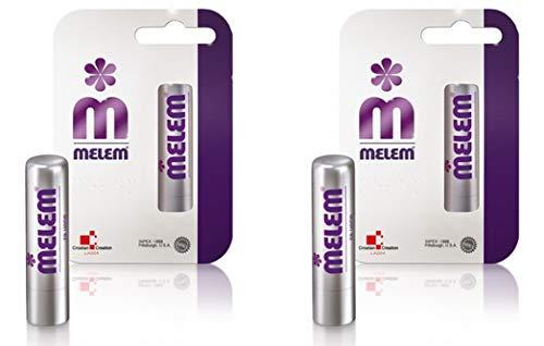 Melem Haz Paquete de 2 x Bálsamo Labial 4.5 g