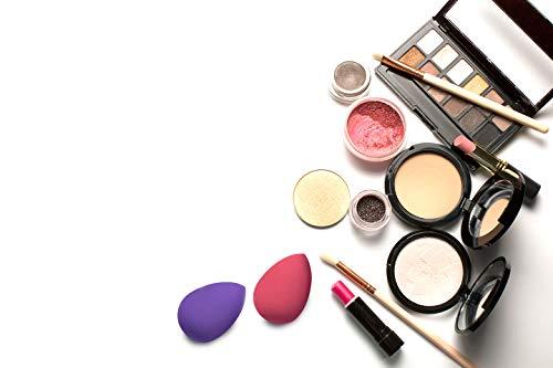 Esponja Maquillaje (Set de 5) Corrector Maquillaje para Polvo, Colorete y Base – Esponjas de Maquillaje para Combinación de Cosméticos