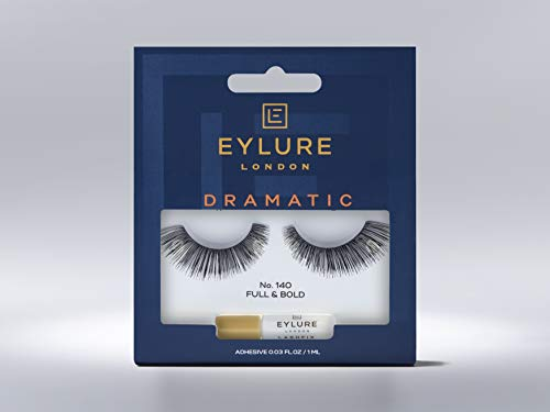 Eylure Exaggerate - Pestañas, Número 140, 1 unidad