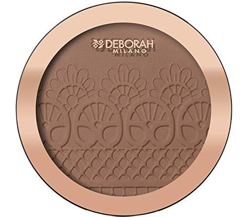 Deborah Milano Producto Para El Cuidado De La Piel De La Cara Deborah Rostro Polvos Bronceadores Maxi Terra Mono 04 P-3-1 unidad