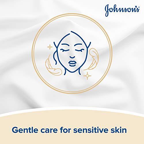 Johnson's cara cuidado maquillaje estará muy sensibles toallitas - pack de 25