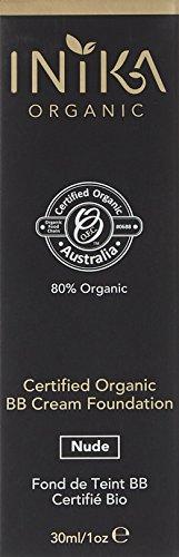 Inika certificación orgánica BB Cream, crema