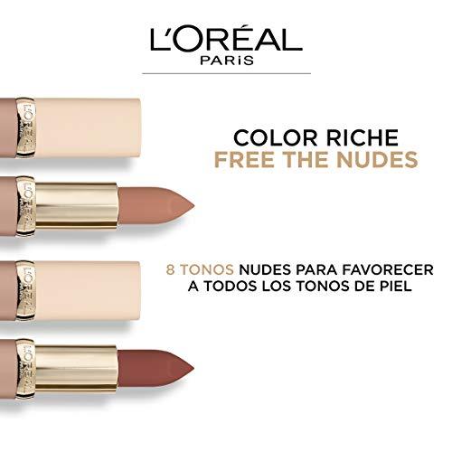 L'Oréal Paris Color Riche Free The Nudes No Hesitation Pintalabios Pintalabios Nude Rosado