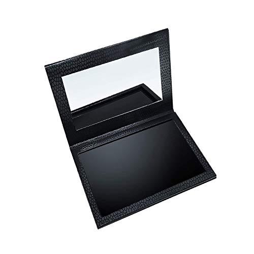 Allwon Magnetic Palette Paleta de maquillaje vacía con espejo para lápiz de labios con sombra de ojos Blush Powder