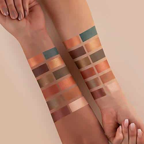 Luvia - Paleta de sombras de ojos con purpurina, brillo y mate, maquillaje de carmaz, incluye 12 colores naturales, caja de regalo limitada, paleta de sombras de ojos vegana