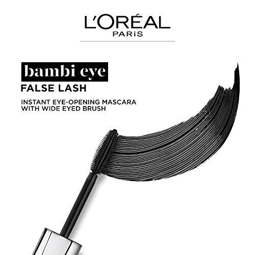 L'Oréal Paris Make-up Designer BambiEye extra black máscara de pestañas, 8.9 ml