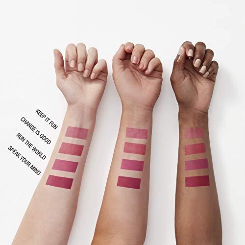 Maybelline New York - Pintalabios SuperStay Ink Crayón tono 75 Speak Your Mind, rojo borgoña