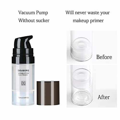 Anself Prebase Maquillaje Perfeccionamiento Maquillaje de Cara Primer Agua Reabastecimiento Suavizado Efecto de la Ocultación Crema Facial (12ML)