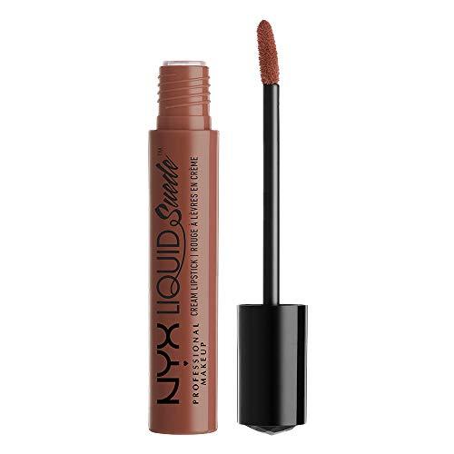 Nyx - Brillo de labios suede cream professional makeup