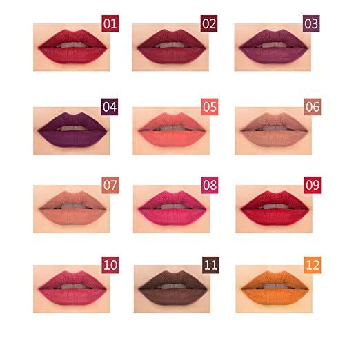 12 Colores Larga Duracion Delineador de labios&ojos&cejas Lápices Cosméticos profesionales