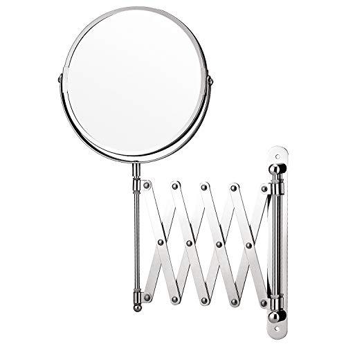 Taylor & Brown® Lupa montado en la Pared Espejo de Maquillaje la ampliación de Afeitar Espejo de Doble Cara Espejo Giratorio de baño