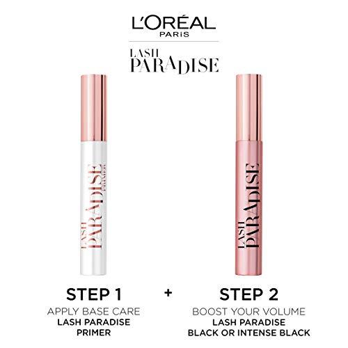 L'Oréal Paris Máscara de Pestañas Paradise Extatic Volumen y Longitud, Tono Negro - 6.4 ml