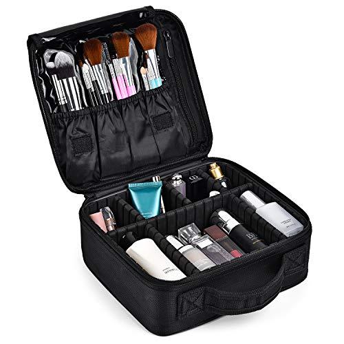Kit de Maquillaje Neceser Make Up Bolso de Cosméticos Portable Organizador Maletín para Maquillaje Maleta de Makeup Profesional con Divisiones Extraíbles
