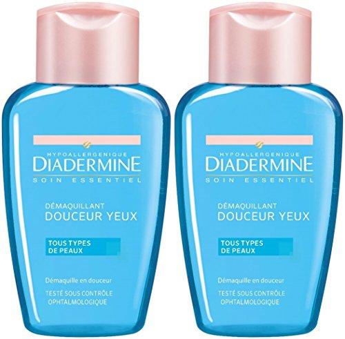 Diadermine–Desmaquillante ojos Douceur–125ml–juego de 2