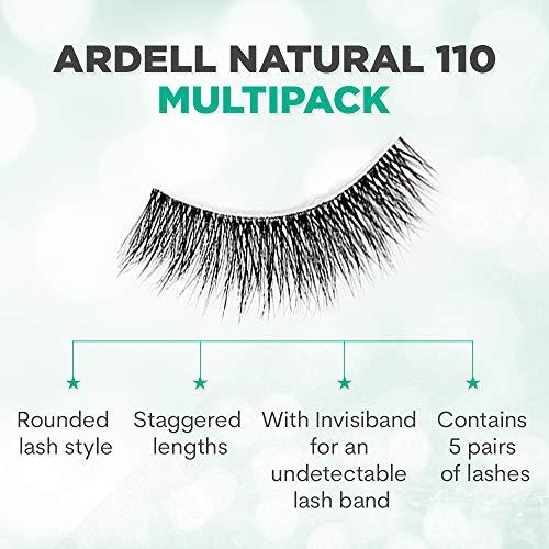 Ardell, Tratamiento para pestañas (5 Pack Natural 110 Black) - 25 gr.