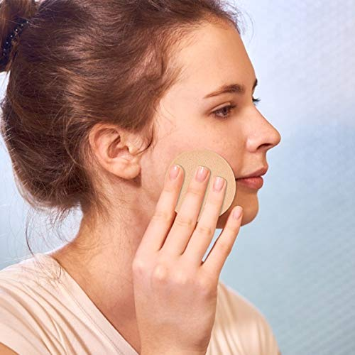 20 Piezas Esponjas de Maquillaje, Redondo y Rectángulo Cosmética Esponjas, Esponja Aplicador Facial Soplo de polvos Esponja, Blender Powder Puff Esponja Espuma