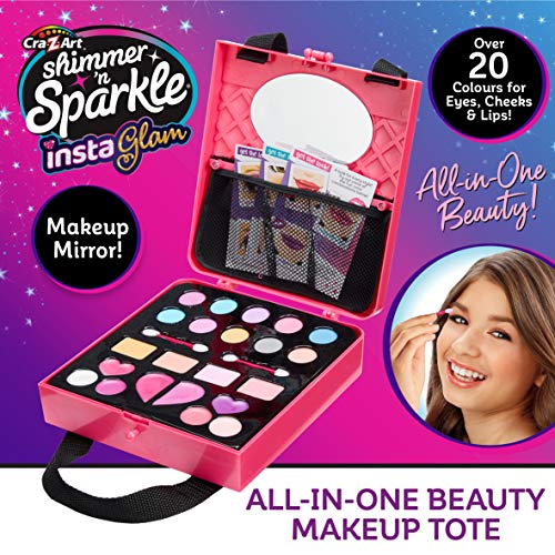 Shimmer and Sparkle-Instaglam Bolso de Maquillaje Todo en uno (Character Options LTD 07313)