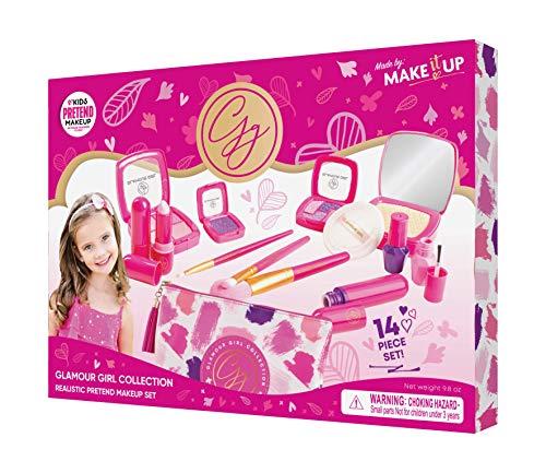 Make it Up, Set de Maquillaje de fantasía para niñas - Ideal para Niñas (No es maquillaje real) [Juguete]