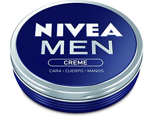 NIVEA MEN Neceser Gimnasio Gympack, neceser con gel de ducha (1 x 250 ml), champú reparador (1 x 250 ml), desodorante roll on (1 x 50 ml) y crema NIVEA MEN (1 x 75 ml)