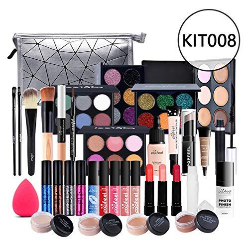 CHSEEO Paleta de Maquillaje Set Paleta de Sombras de Ojos, Juego de Maquillaje Kit de Maquillaje para Mujeres y Niñas Caja de Regalo Cosméticos #4