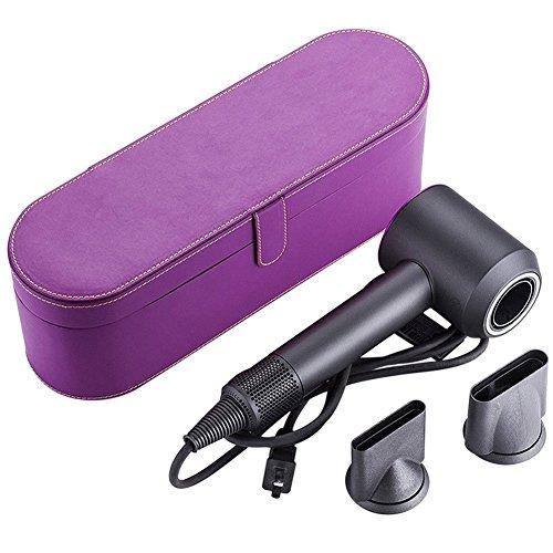 Haodasi (Púrpura Estuche Protector para Dyson Supersonic Hair Dryer,Duro Caso Recorrido Bolso Funda Estuche Case para Dyson Supersonic Secador de Pelo