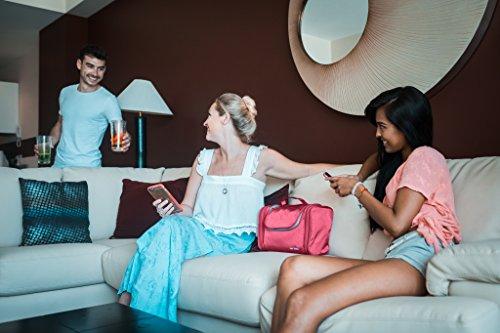 TRAVANDO ® Neceser Mujer Grande XXL, Bolsa de Aseo para Colgar, Neceser de Viaje, Accesorios de baño, Bolso de Maquillaje, Mujeres