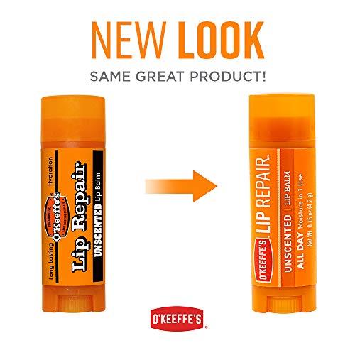 O'Keeffes Lip Repair Bálsamo Labial: unscented Stick (Naranja)