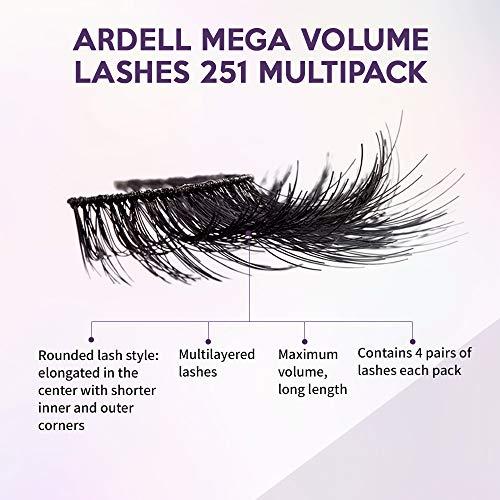 Ardell, Tratamiento para pestañas (4 Pack Mega Volume 251) - 25 gr.