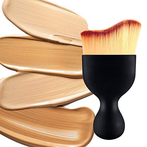 IHUIXINHE 4pcs Pro belleza maquillaje impecable licuadora Fundación soplo Multi forma esponjas nuevas